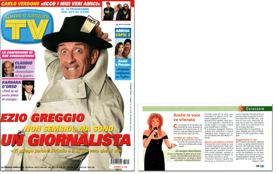 Cover Tv Sorrisi & Canzoni